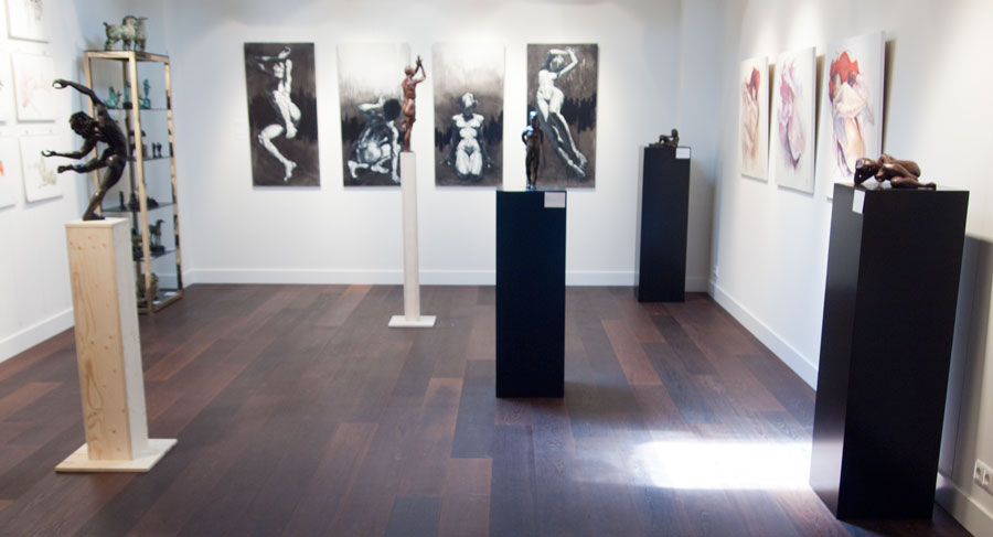 Exposition at 'Beelden bij Beljon'  art gallery, spring 2011